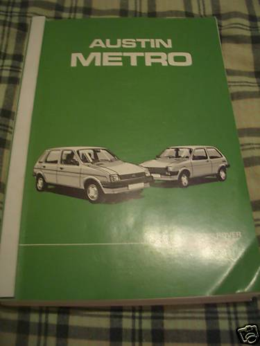 Austin_Rover_Metro_Repair_Manual_Workshop_1986
