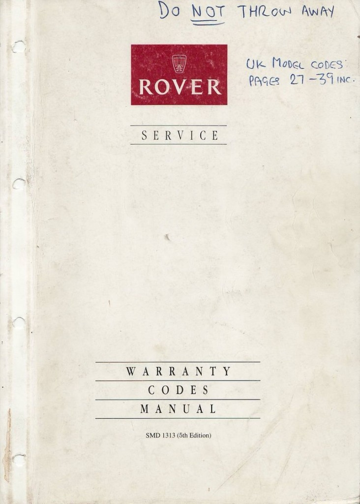 Rover_Warranty_Codes_Manual_1993