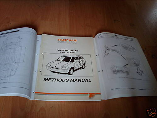Thatcham_Body_Repair_Manual_Rover_Metro_3_and_5_door_1990_on