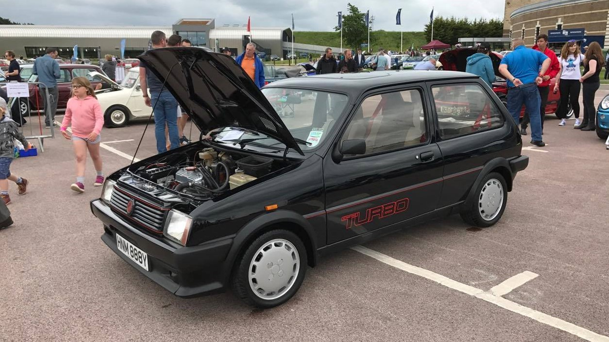 James Barnes' MG Turbo