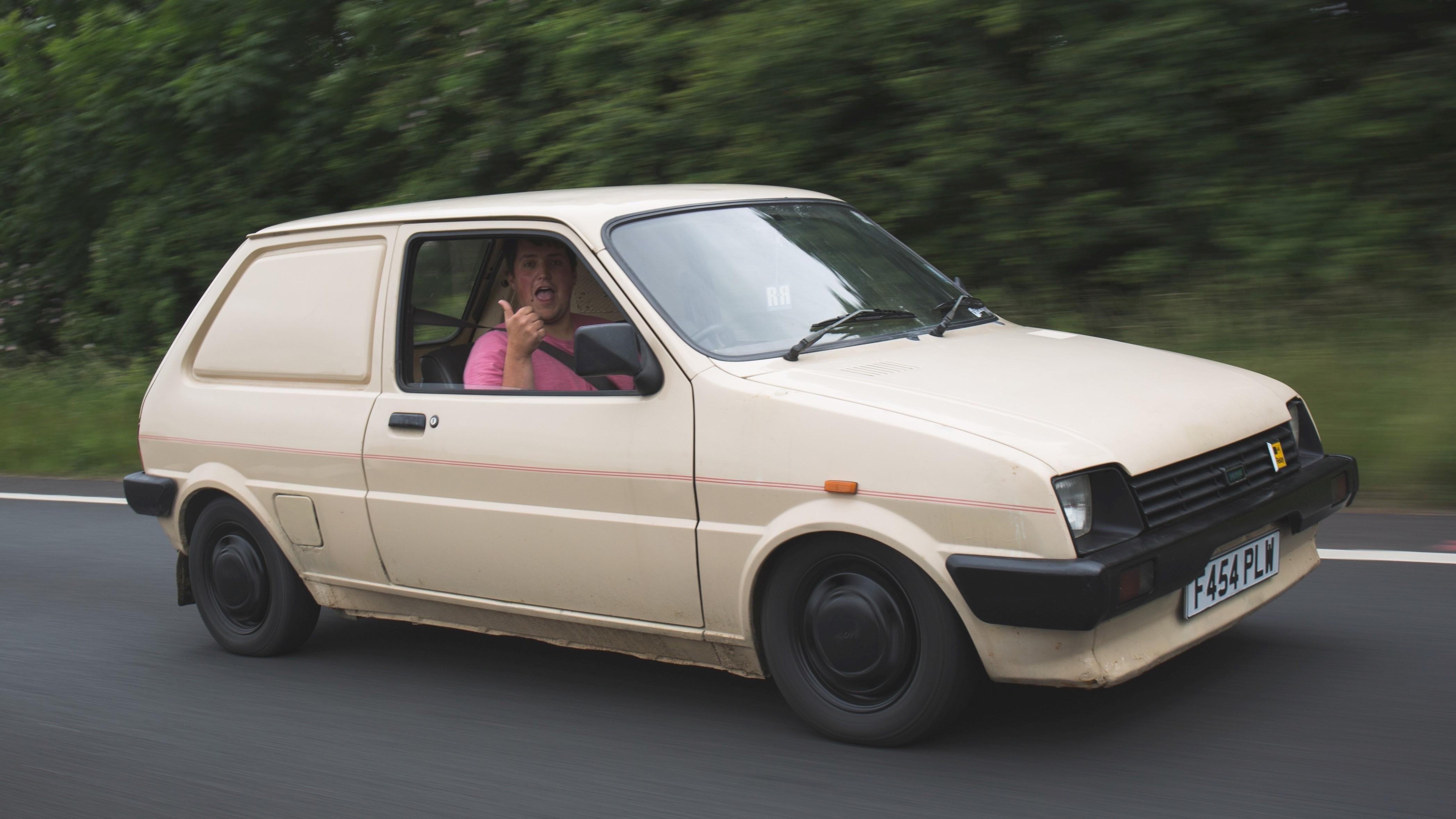 Jon Leake's Van