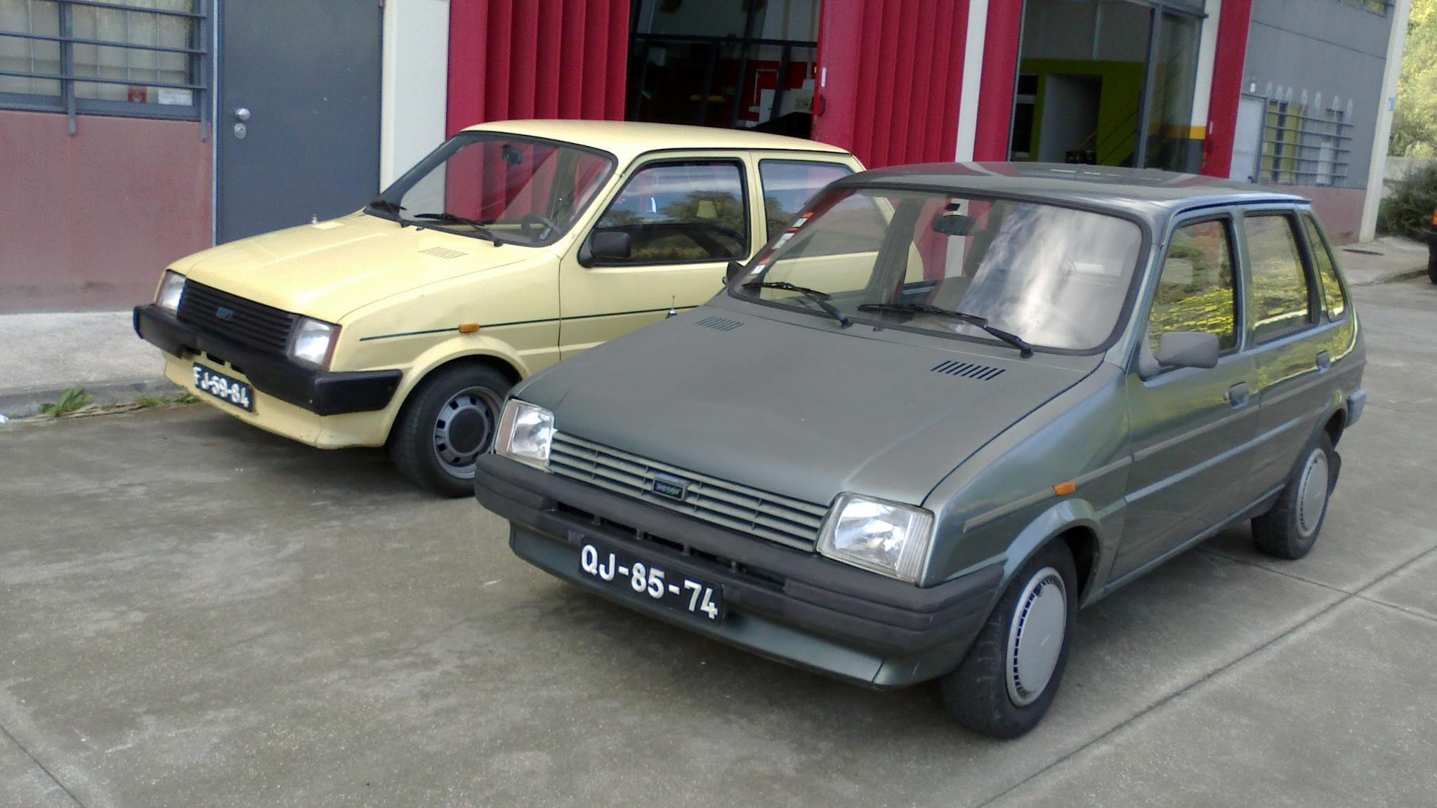 José Carlos Magalhães' Mk1 and Mk2